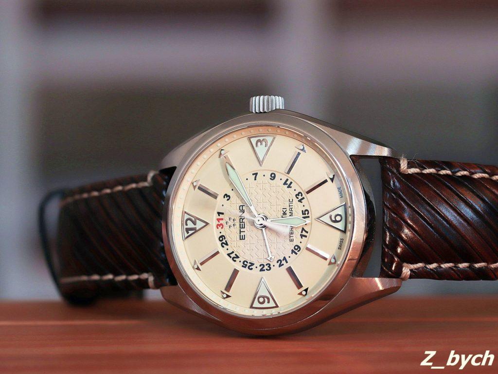 ETERNA KONTIKI FOUR-HANDS 1592.41.41.12 - najładniejsza wersja tego zegarka
