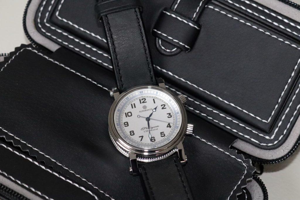 ALMIRANTE NAVEGANTE - hiszpański zegarek w morskiej stylistyce.