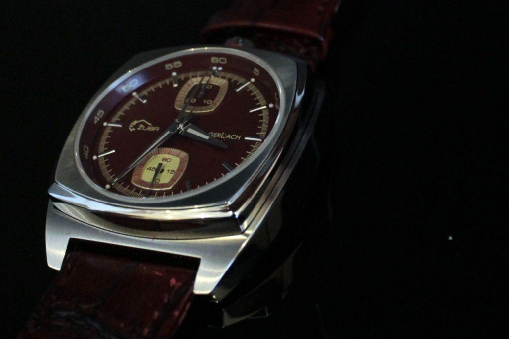 Żubr w budyniu. Zegarek wykonany przez Fundację G.Gerlach specjalnie dla Forum Miłośników Zegarków www.czwarty-wymiar.pl