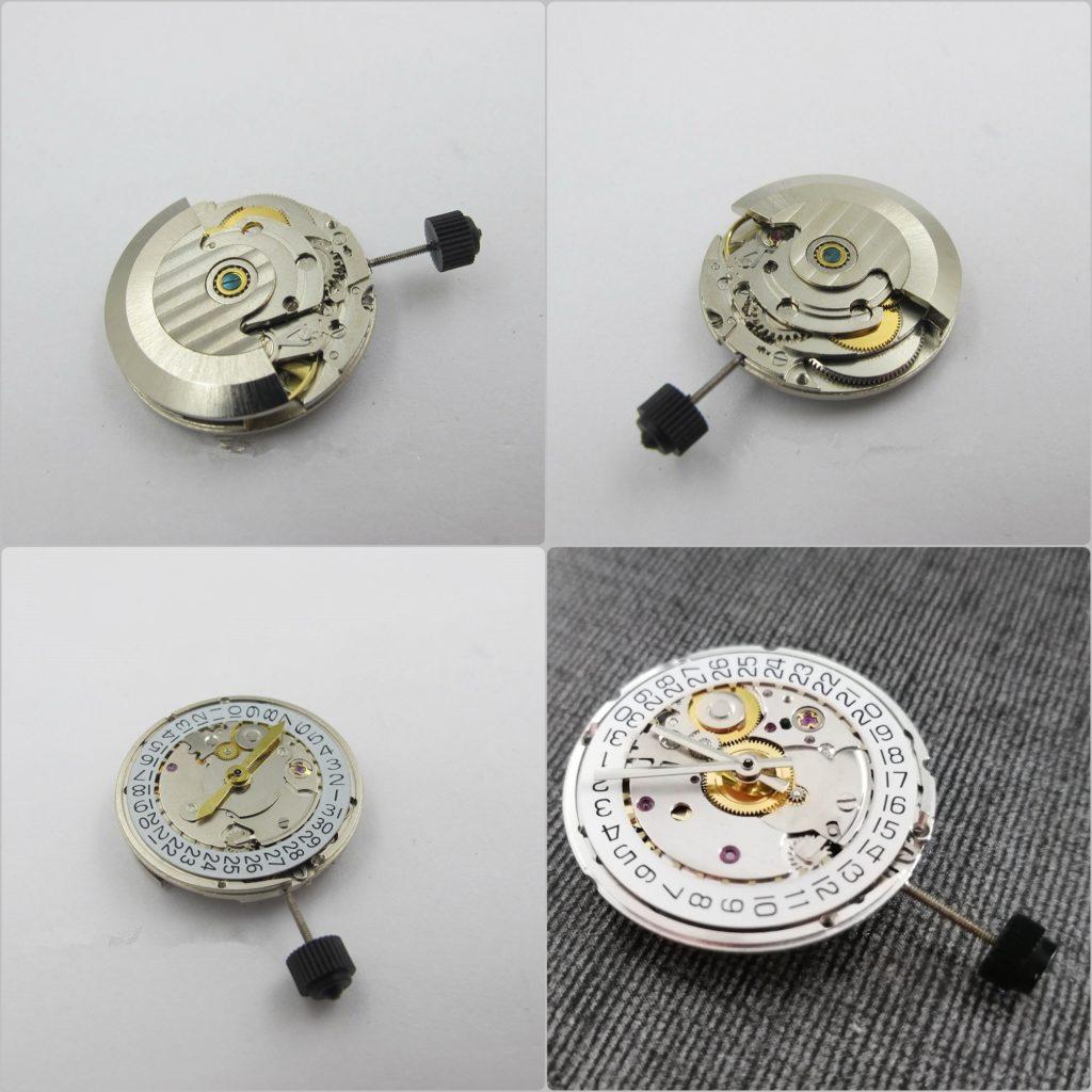 Mechanizmy do zegarków 1